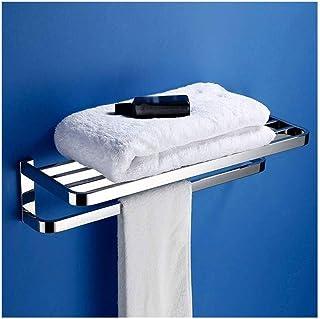 Zzaoxin Étagère de salle de bains Porte-serviettes Porte-serviettes Support de rangement pour panier de douche Tidy 304 ét...