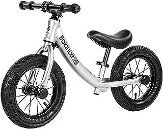 Kids Balance Bike for 2-6 Years Old Boys Girls, Aluminium Alloy Frame, No Pedal Walking Balance Bike Training Bicycle for ...