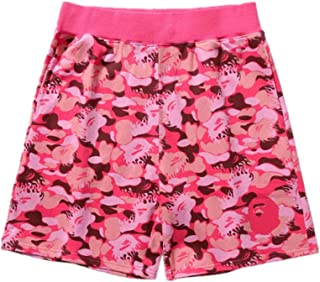 Bape Shark Athletic Pants Camouflage Print Casual Shorts Couple Sweatpants Beach Pants for Men/Women