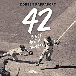 42 Is Not Just a Number     The Odyssey of Jackie Robinson, American Hero              Auteur(s):                                                                                                                                 Doreen Rappaport                               Narrateur(s):                                                                                                                                 JD Jackson,                                                                                        Doreen Rappaport                      Durée: 2 h et 10 min     Pas de évaluations     Au global 0,0