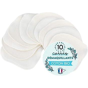 MODULIT 10 Discos Desmaquillantes Lavables y Reutilizables en algodón orgánico: Amazon.es: Belleza
