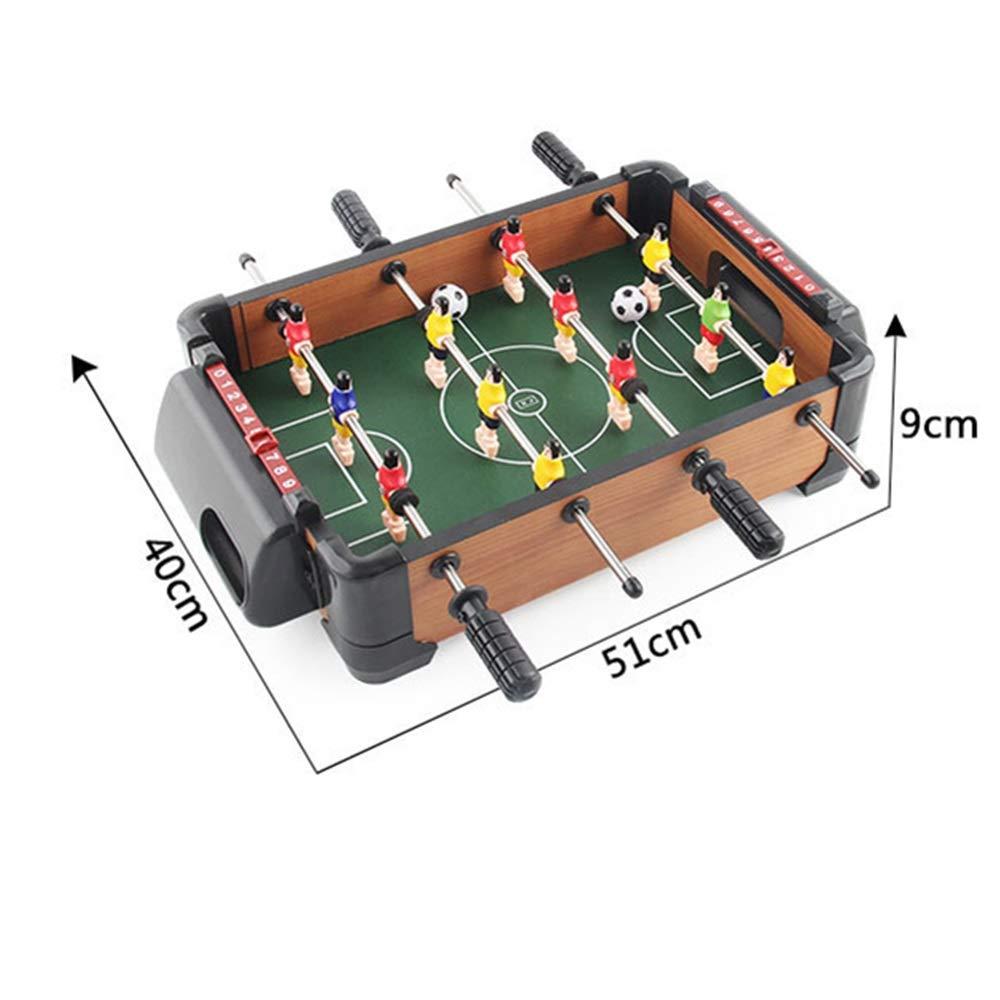 Yaunli Fútbol Foosball Tabla Futbolín Fútbol Tableros Tamaño Mini ...