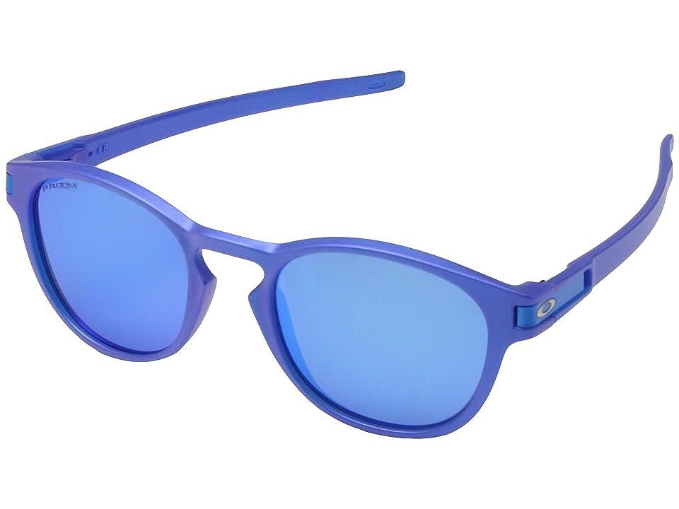 Oakley Latch (Xray Blue w/ Prizm Sapphire) Fashion Sunglasses