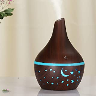 Festnight Aroma Diffuser 300ML Aromatherapy Essential Oil Diffuser with 7 Colors Led Night Light Air Humidifier Purifier M...