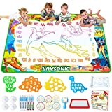 Jasonwell Aqua Magic Doodle Mat - 60 x 40 Inches Large Water Drawing Doodling Mat Painting Writing...