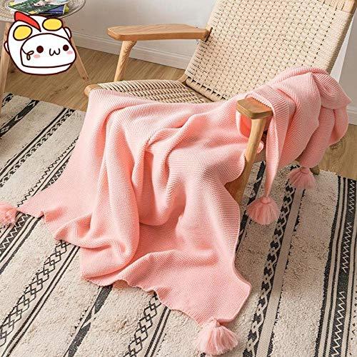 Amosiwallart Mantas para Sofa, Mantas para Cama de Franela Reversible, Mantas Ligeras de 100% Microfibra - Fácil De Limpiar - Extra Suave Cálido -Barbie Rosa_El 130cmx160cm