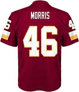 Outerstuff Alfred Morris NFL Washington Redskins Mid Tier Replica Home Jersey Boys SZ (4-7)