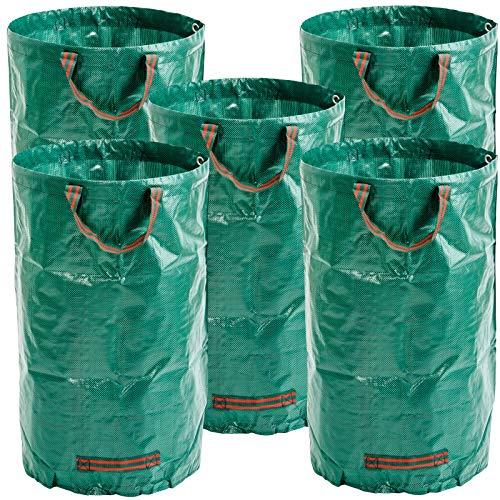 Masgard® Gartensack Laubsack Gartenabfallsack - Verschiedene Größen (5, 120 Liter)
