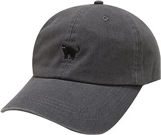 City Hunter C104 Small Black Cat Cotton Baseball Cap 9 Colors