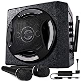 TONOR PA System Karaoke Machine with Bluetooth Powered Speaker Wireless Microphones Handheld for Family Party, Indoor...