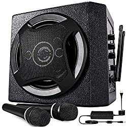 powerful Karaoke machine with TONOR PA system with wireless microphone with Bluetooth speaker, portable …