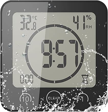 Amazon.fr : horloge salle de bain : Cuisine & Maison