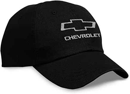 Gregs Automotive Chevy Chevelle Bowtie Hat Cap Black//White Bundle with Driving Style Decal