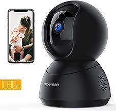 APEMAN WiFi Camera 1080P Indoor Home Security Camera Wireless IP Camera Human/Motion Detection Pet/Baby Monitor Night Vision 2-Way Audio Pan/Tilt/Zoom