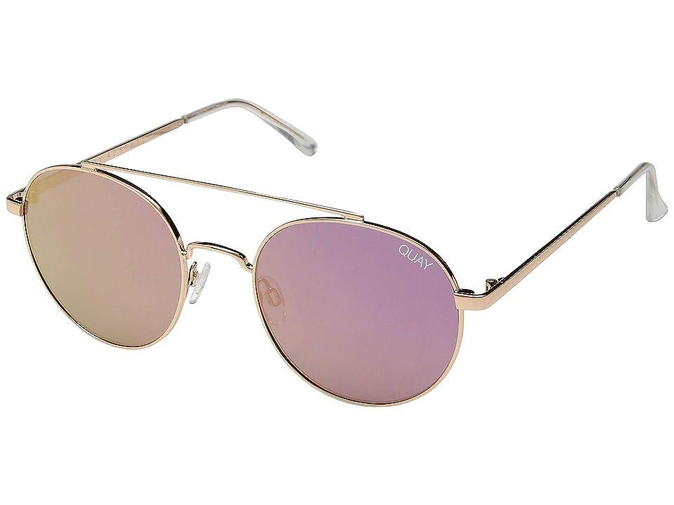 QUAY AUSTRALIA Outshine (Rose/Pink) Fashion Sunglasses