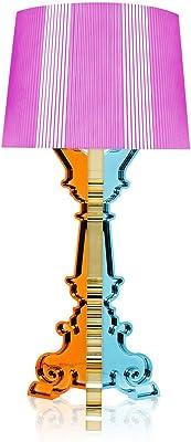 Kartell Bourgie, Lampada da tavolo, Dimmerabile, Multicolore(Fucsia)