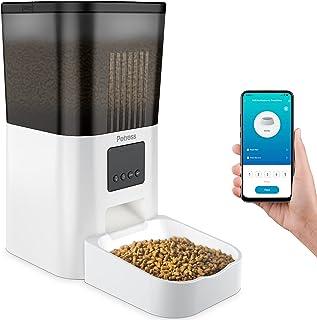 Petress Automatic Cat Feeder, 4L Timed Pet Food Dispenser...