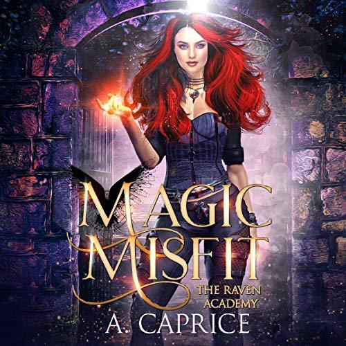 Magic Misfit: A Reverse Harem Academy Romance cover art
