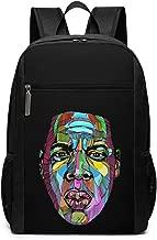 Wokeyia Multicolored Jay Z Backpack Waterproof Schoolbag For Unisex