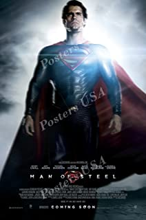 Posters USA - DC Man of Steel Superman Movie Poster GLOSSY FINISH - FIL236 (24