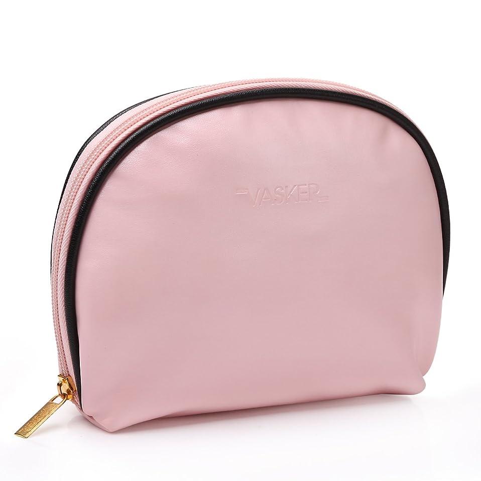 記念本当のことを言うと肌寒いVASKER 化粧ポーチ メイクアップバッグ 高品質 小物入れ レディース用 出張 旅行 ピンク
