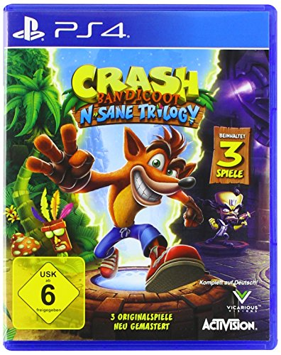 Crash Bandicoot - N.Sane Trilogy (PlayStation PS4)