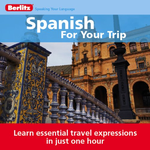 Spanish for Your Trip audiobook cover art