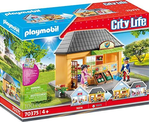 PLAYMOBIL City Life 70375 - Mein Supermarkt, ab 4 Jahren