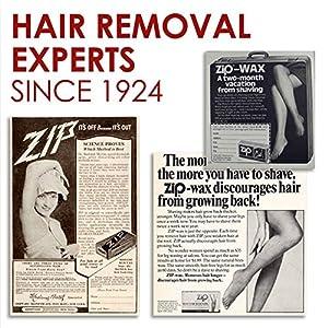 Zip Wax Hot Wax Hair Remover 7 Oz by ZIP
