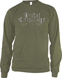 Men's Bridal Entourage Faded Silver Long Sleeve Shirt