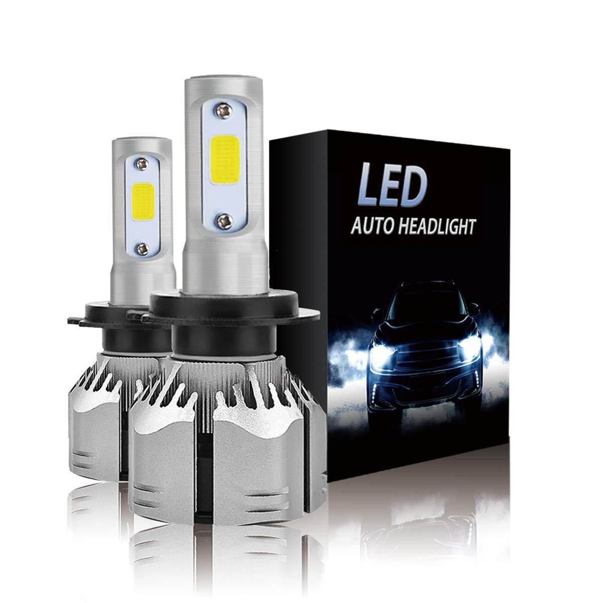 Car H7 Bulb Set Headlight Bulbs Xenon Bright White Lights For Land Rover