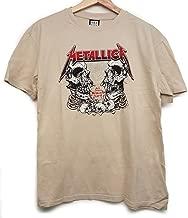 Amplified Clothing Metallica 'Birth School' (Bone) T-Shirt