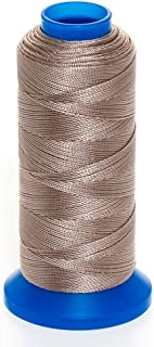 GRIFFIN Jewelry Nylon Bead Cord Spool For Stringing Pearls and Beads, No Stretch, Soft & Smooth, For Professional Jewelry Makers (Beige JN1 Cord Dia. 0.2 mm (.008