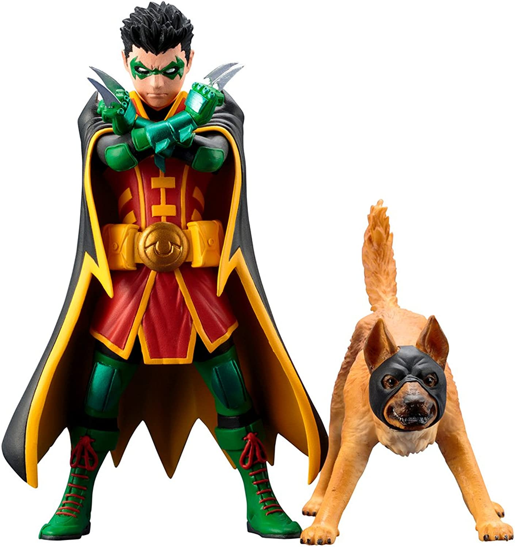 DC Comics SV222 Universe Robin and BatHound Artfx Statue