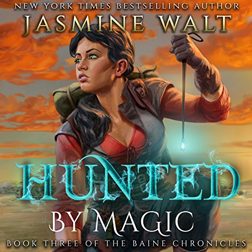 Hunted by Magic audiobook cover art