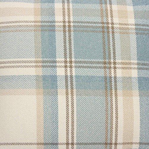 McAlister Textilien Heritage Stoff Baumwolle in Hellblau 140 cm Breite Meterware im Tartan-Muster kariert Textil Material per Meter