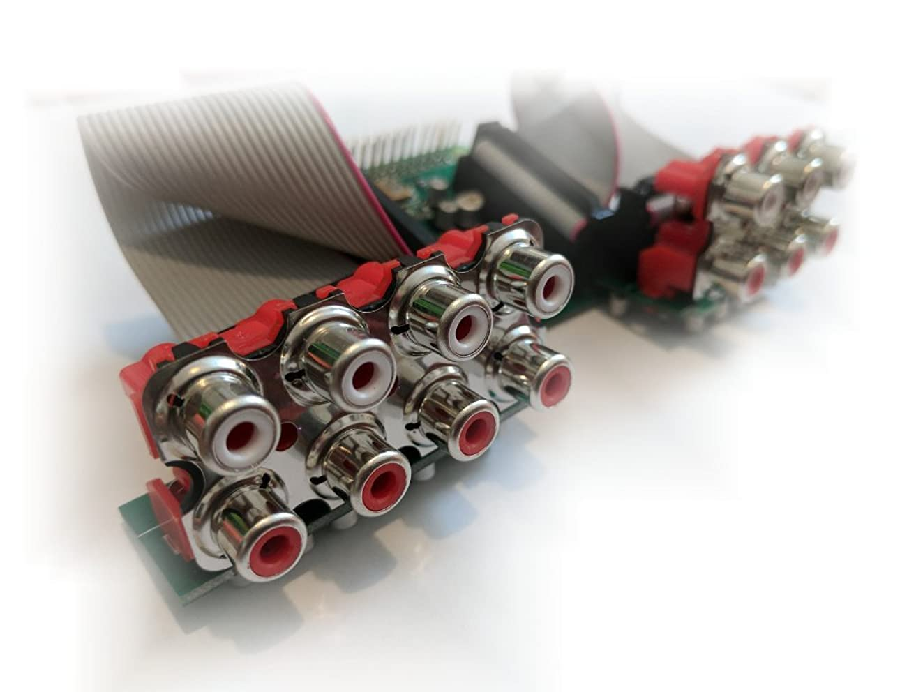 Octo 8 channel sound card for the Raspberry Pi