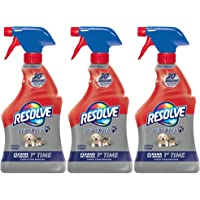 3-Pack Resolve Pet Stain Remover Carpet Cleaner 22 oz
