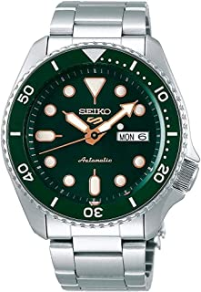 SRPD63 Seiko 5 Sports Men's Watch Silver-Tone 42.5mm Stainless Steel