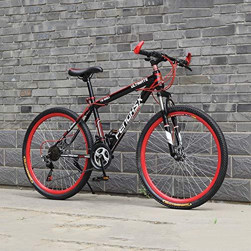 YXWJ 21/24 Velocidad de montaña Adultos Bike Frame Acero de