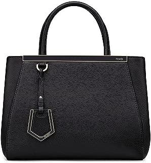 Women Handbag Petite 2Jours Black Elite Calfskin