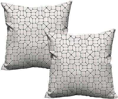 Amazon.com: Khaki Home Seaside - Funda de almohada cuadrada ...