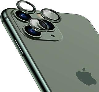 TAMOWA Skottsäker kamera skärmskydd för iPhone 11 Pro/iPhone 11 Pro Max, aluminiumlegering 360 graders skydd bakre kameral...