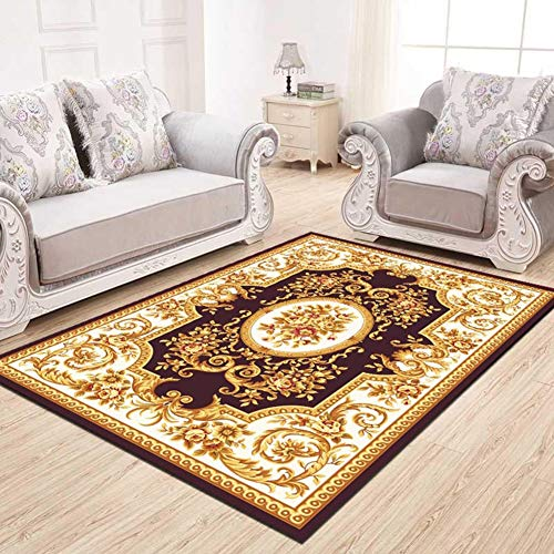 YXZN Tappeti Orientale Classico Soggiorno Camera da Letto tavolino Tappetino Lavabile Moda Decorazione della casa Varie Dimensioni
