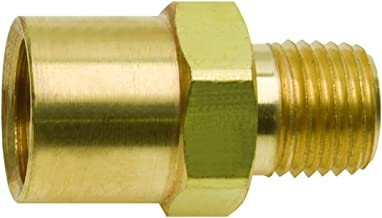 5/8-18 RH x 1/4 Male Pipe Mig Welding Gas Fitting Argon Inert Gas Tig Welder
