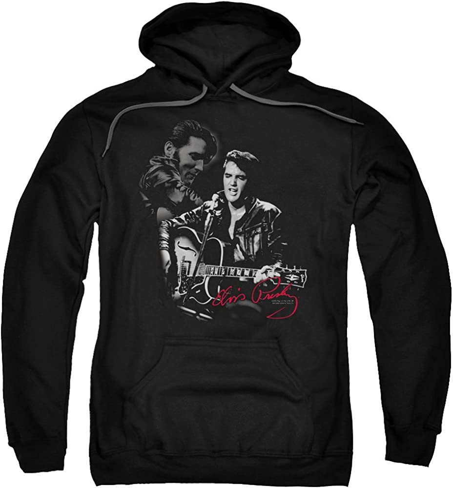 San Diego Mall Elvis Presley Show Stopper Austin Mall Unisex for Pull-Over Adult Men Hoodie