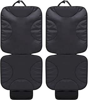 2 Pack Car Seat Protector Thick Protection for Cars Seats, Dog Mat Durable Cover Protects Automotive Vehicle Leather or Cl...