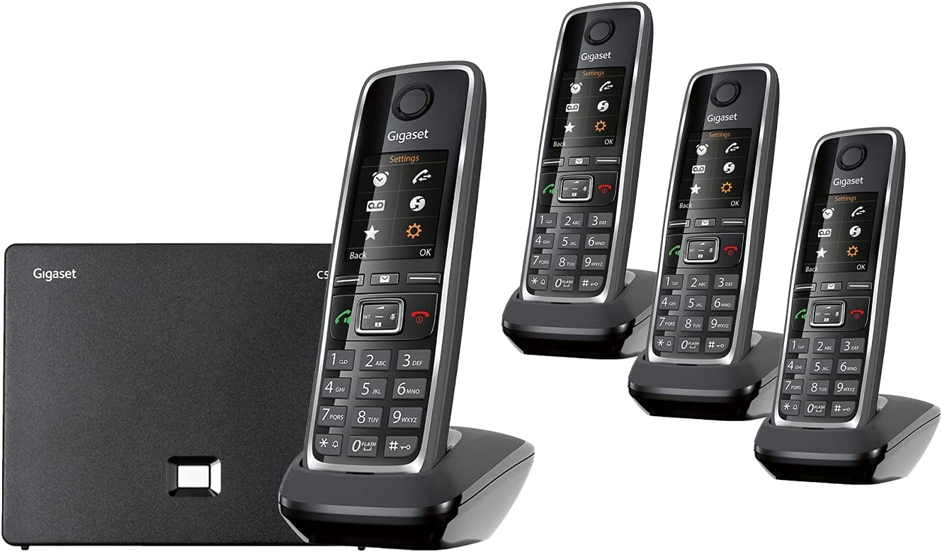 Gigaset C530IP New products world's highest quality popular Quad – Portable Additional 3 VoIP Phone with Topics on TV