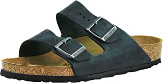 Birkenstock Arizona, Women's Fashion Sandals, Black Anthracite, 40 EU
