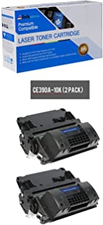 Inksters Compatible Toner Cartridge Replacement for HP 90A CE390A Black - Compatible with Laserjet Enterprise 600 M601N M602N M603DN M603XH Enterprise M4555 MFP M4555F (2 Pack)